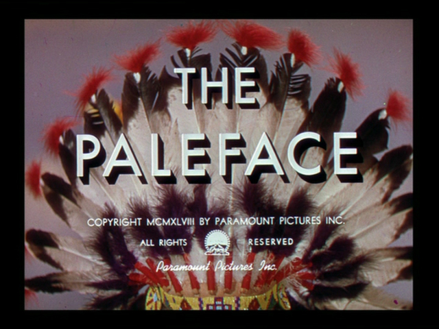 The paleface 1948 movie title