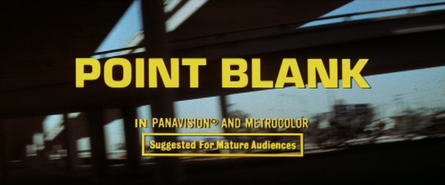 point blank. Point Blank (1967)