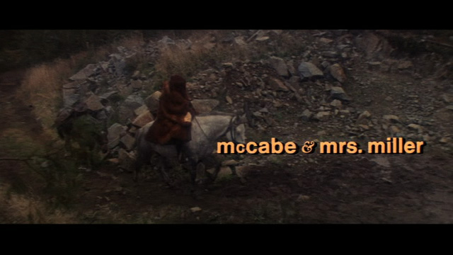 Mccabe And Mrs Miller. McCabe amp; Mrs. Miller 1971