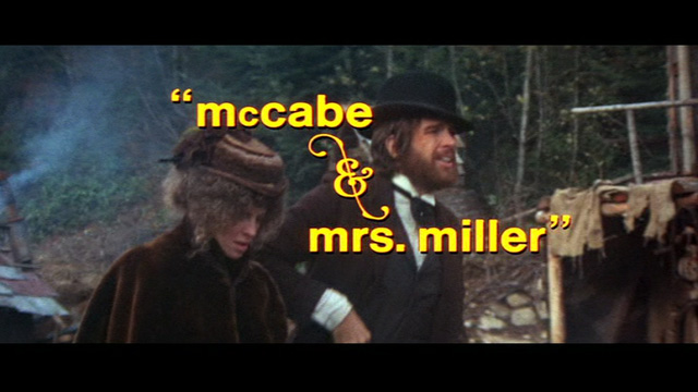 Mccabe And Mrs Miller. McCabe amp; Mrs. Miller (1971)