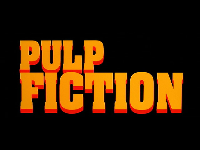 Pulp Fiction Story Structure